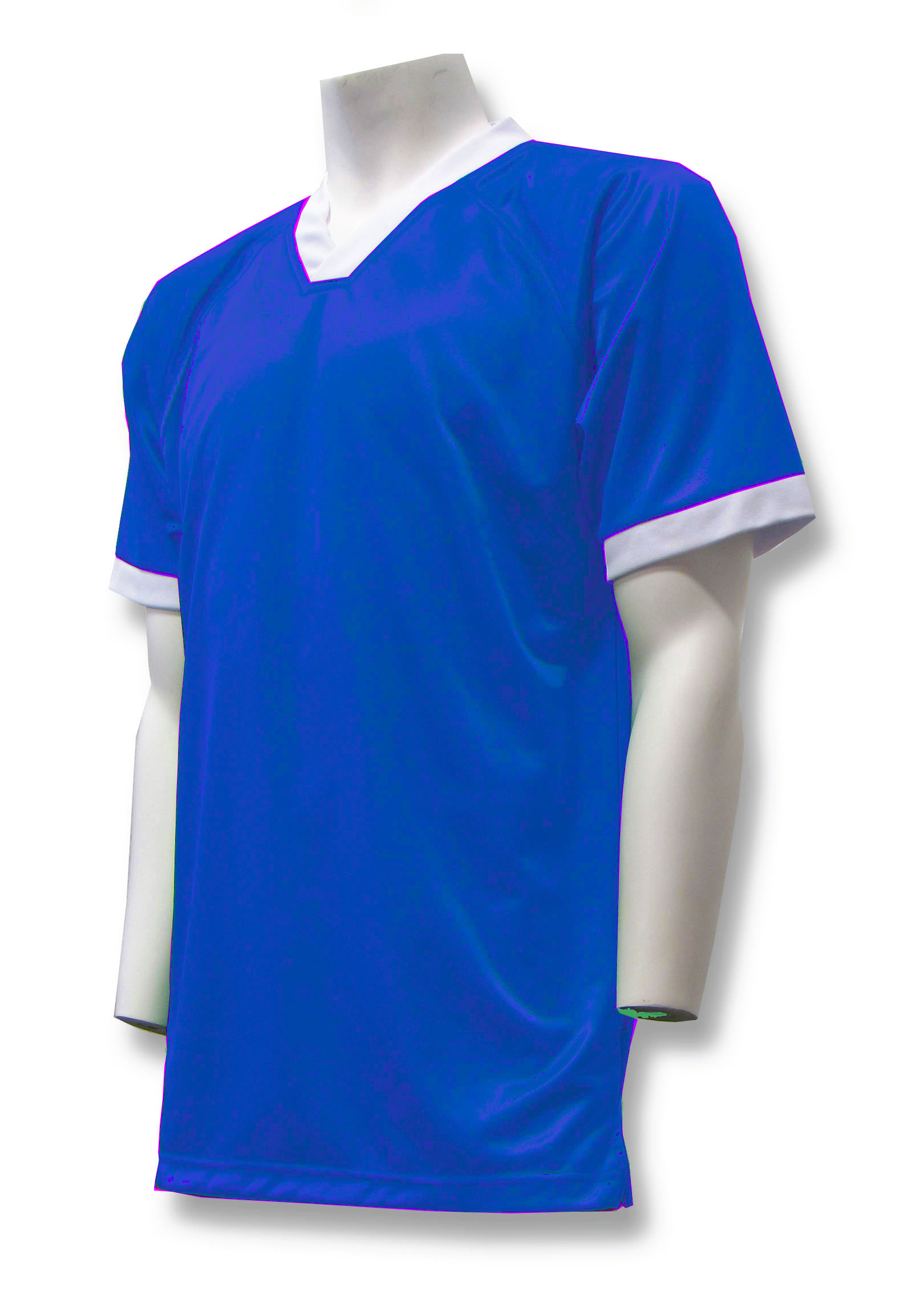 Pioneer soccer jersey in royal by Code Four Athletics