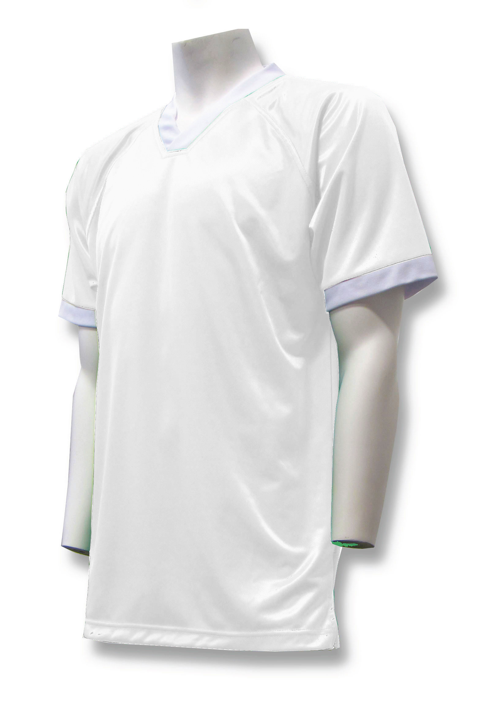 Pioneer soccer jersey in white by Code Four Athletics