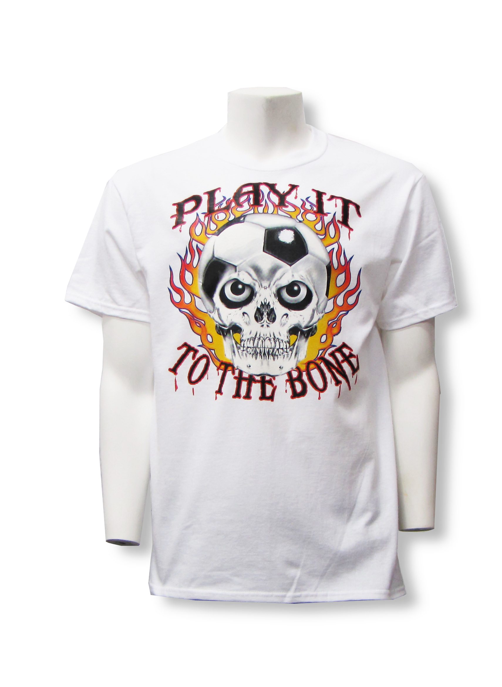 Play It To The Bone soccer T-shirt by Code Four Athletics