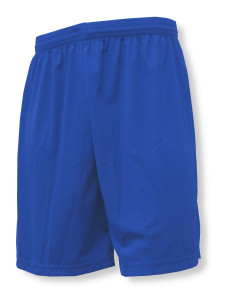 Pro style soccer shorts in royal by Code Four Athletics
