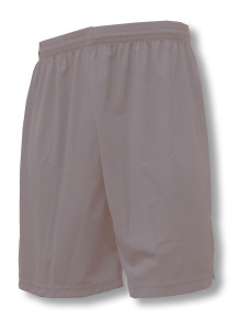 Pro style soccer shorts in silver by Code Four Athletics