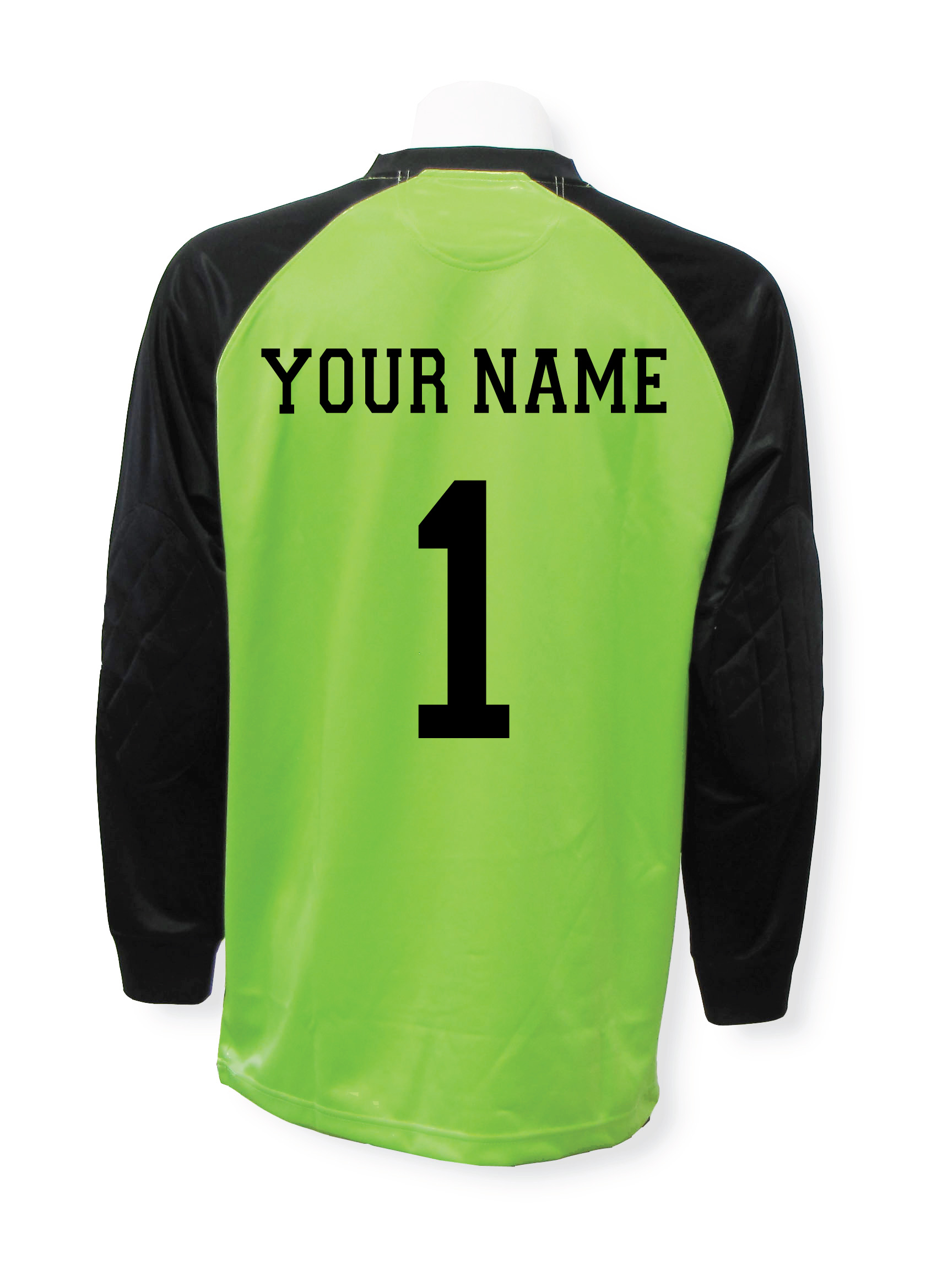 Personalized Soccer Goalie Jersey with your name and number by Code Four Athletics