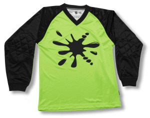 Renton keeper jersey in lime by Code Four Athletics