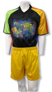 S/S Keeper Jersey with Gold shorts