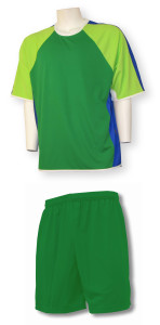 Seattle soccer uniform kit by Code F our Athletics
