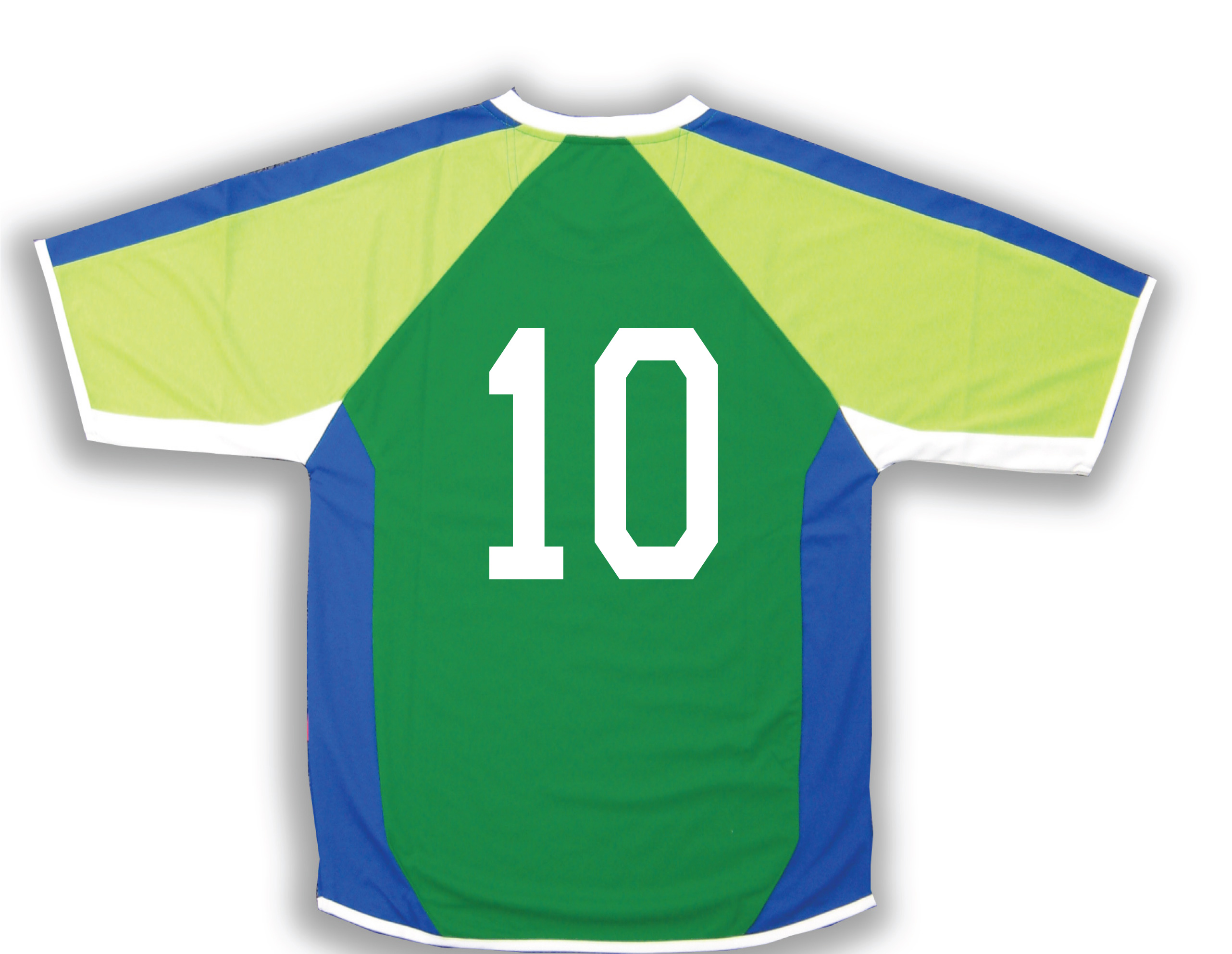 Seattle soccer jersey with number on back