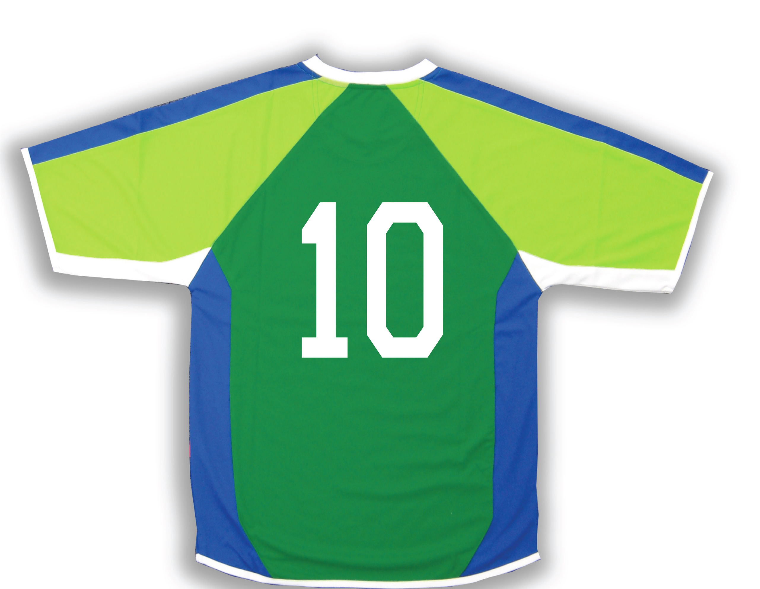 Seattle soccer jersey with number on back by Code Four Athletics