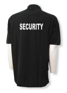 Security Polo - back