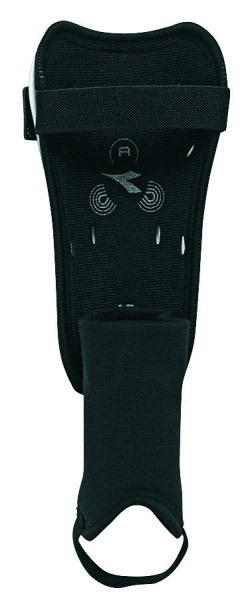 Diadora Ultimate shin guard (back) by Code Four Athletics