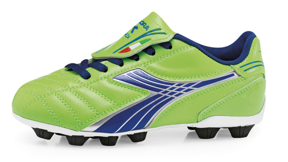 Diadora Forza cleat in lime by Code Four Athletics