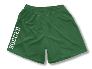 Spritwear Soccer Sport Shorts for girls, in forest
