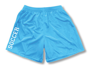 Spritwear Soccer Sport shorts for girls, in sky
