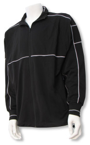 Sparta soccer warmup jacket in black/black