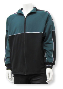 Sparta soccer warmup jacket in forest/black