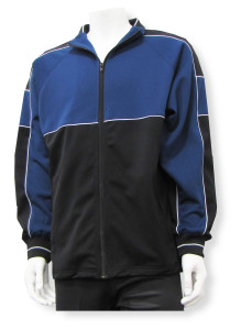 Sparta soccer warmup jacket in navy/black
