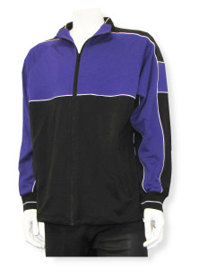 Sparta soccer warmup jacket in purple/black