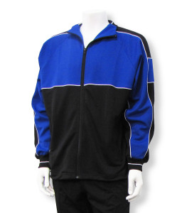 Sparta soccer warmup jacket in royal/black