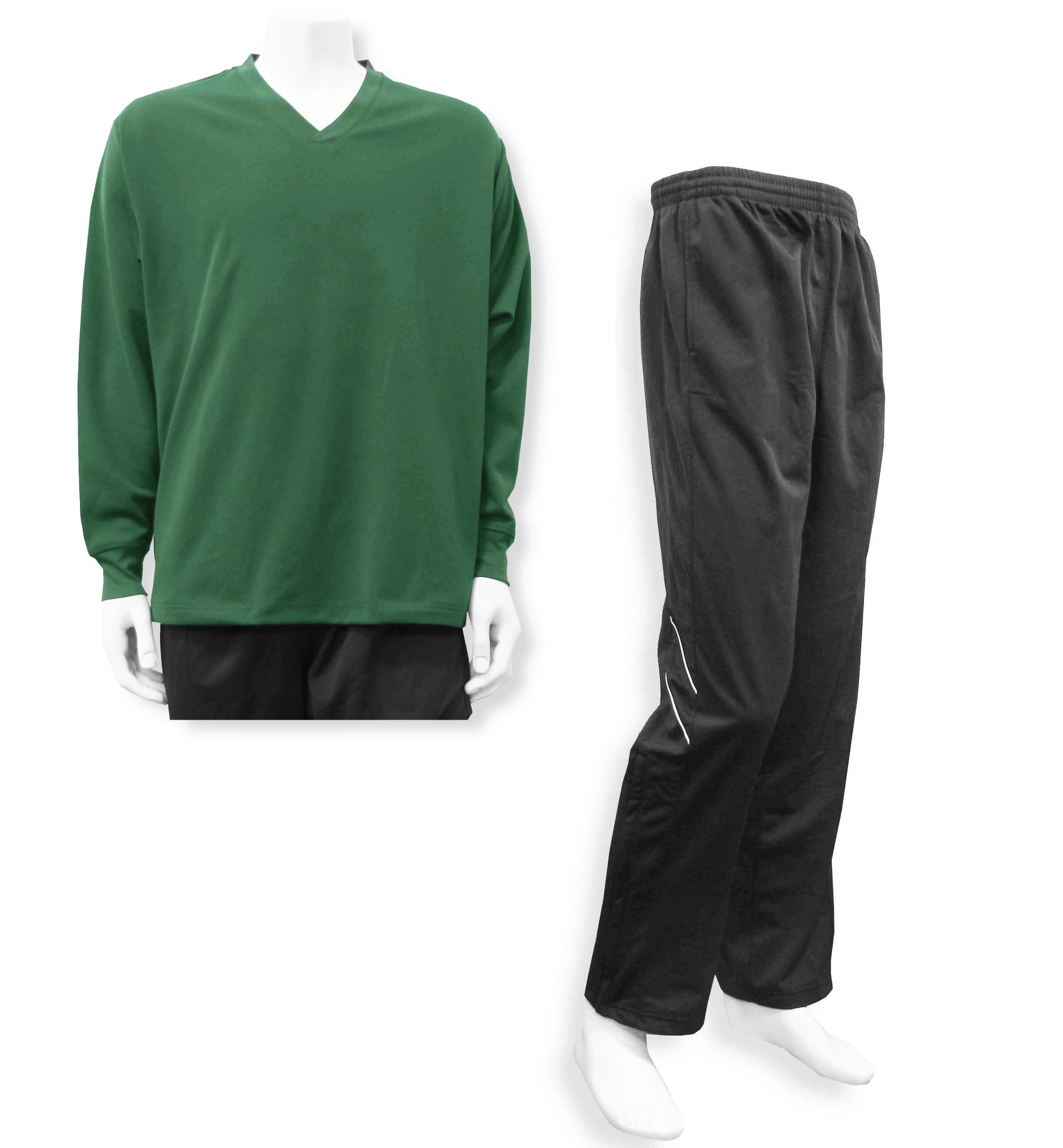 Men's casual track suit in forest/black by Code Four Athletics