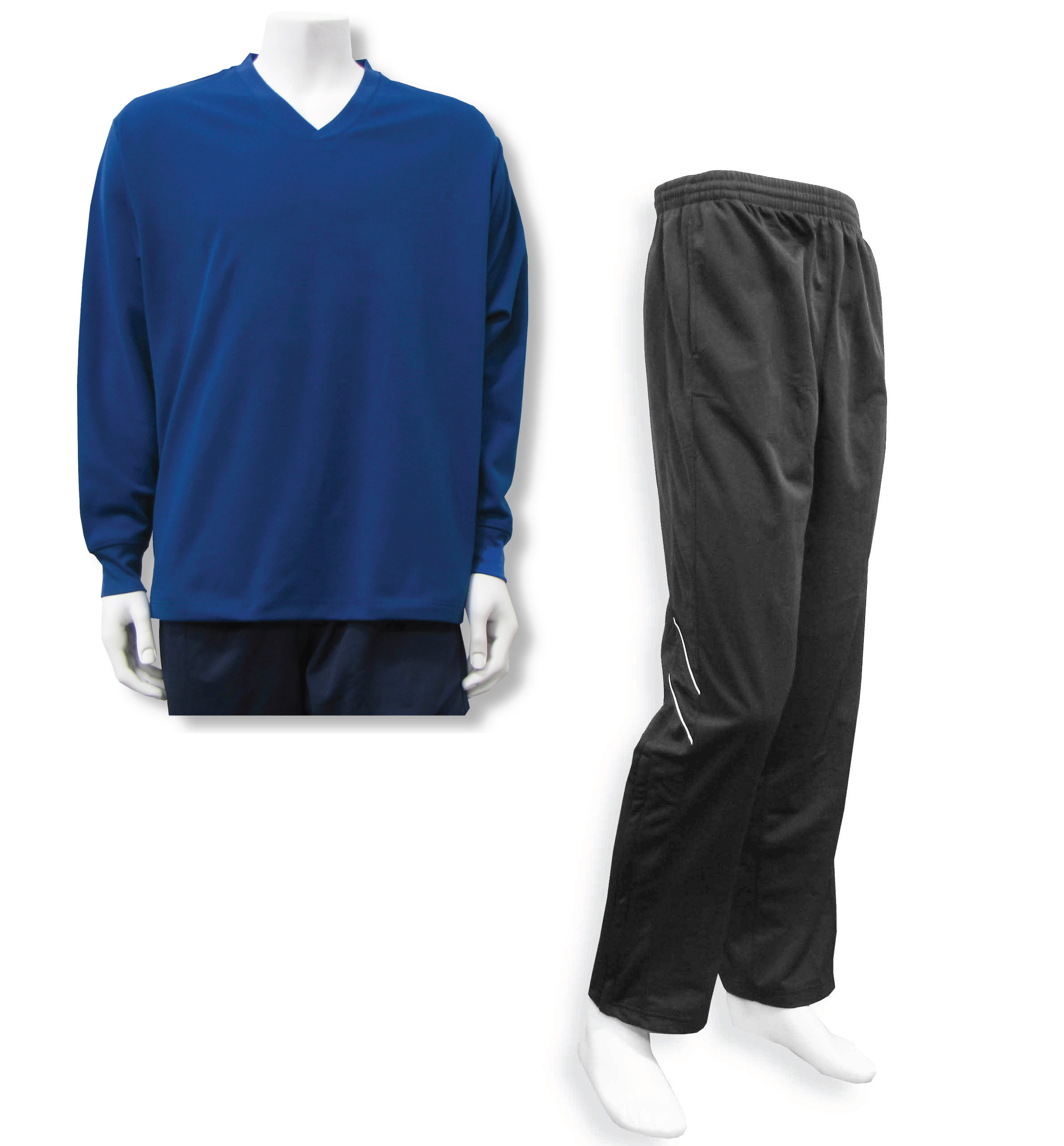 Men's casual track suit in navy / black by Code Four Athletics