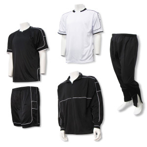 Nova soccer team package in black by Code Four Athletics