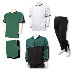 Nova soccer team package in forest by Code Four Athletics