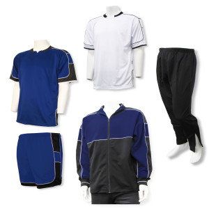 Nova soccer team package in navy by Code Four Athletics