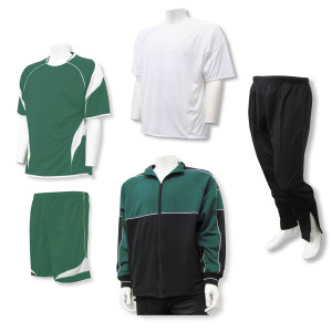 Velocity soccer team package in forest by Code Four Athletics