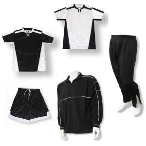 Winchester soccer team package in black by Code Four Athletics