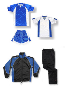 Imperial Soccer Team Package in royal/white by Code Four Athletics