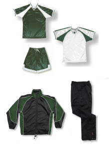 Spitfire soccer team package in forest by Code Four Athletics