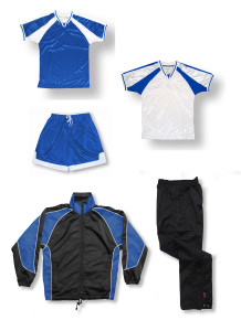 Spitfire soccer team package in royal by Code Four Athletics