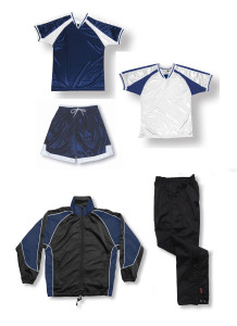 Spitfire soccer team package in navy by Code Four Athletics