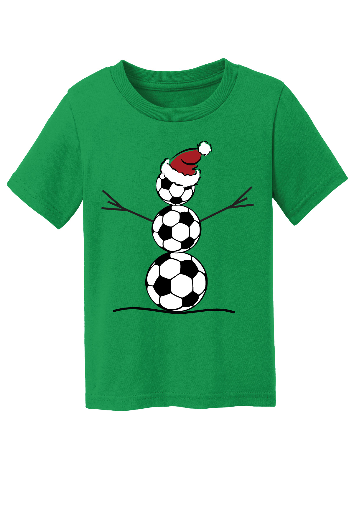 Toddler Soccer Snowman tee by Code Four Athletics