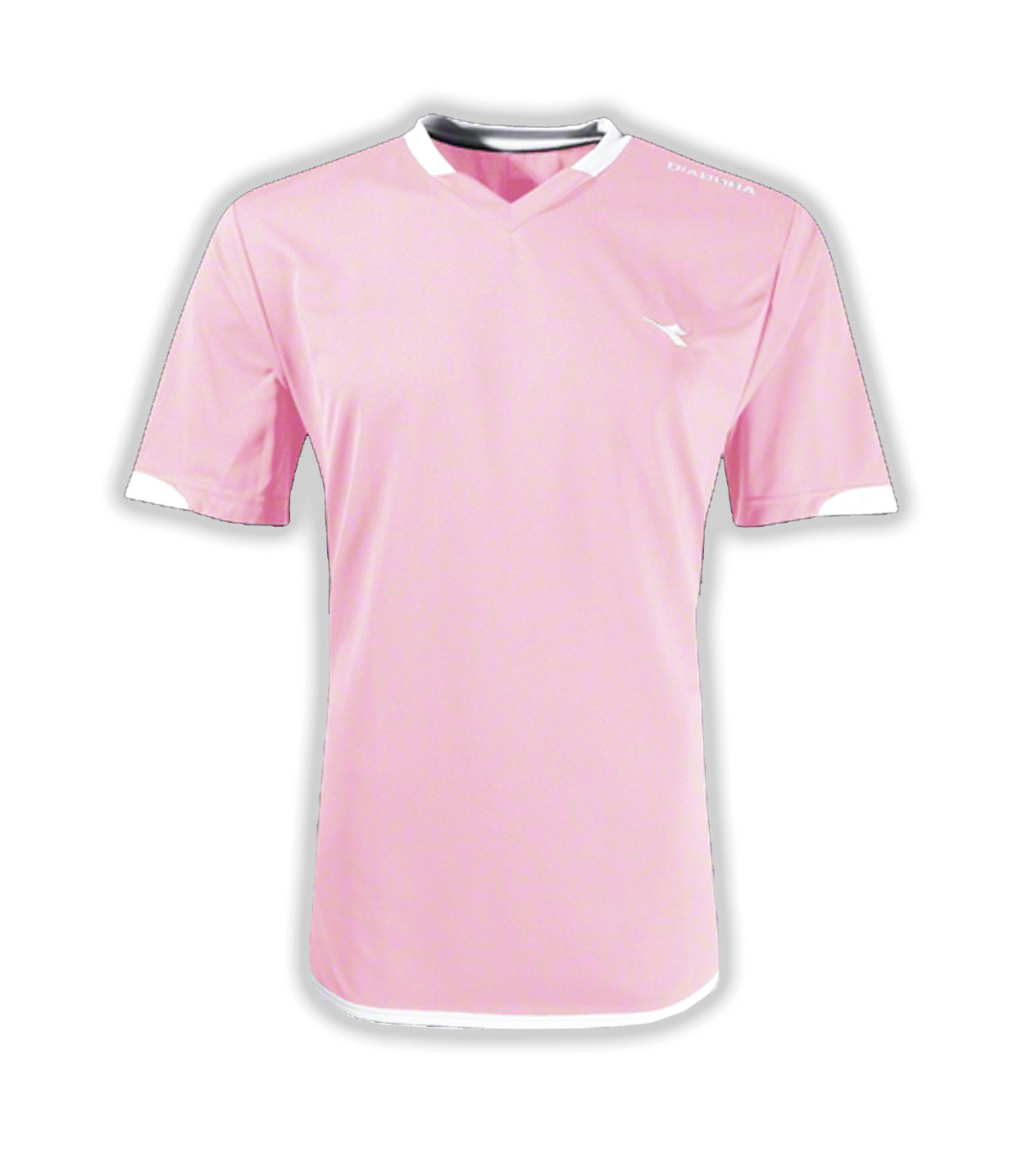 Diadora Uffizi soccer jersey in pink offered by Code Four Athletics