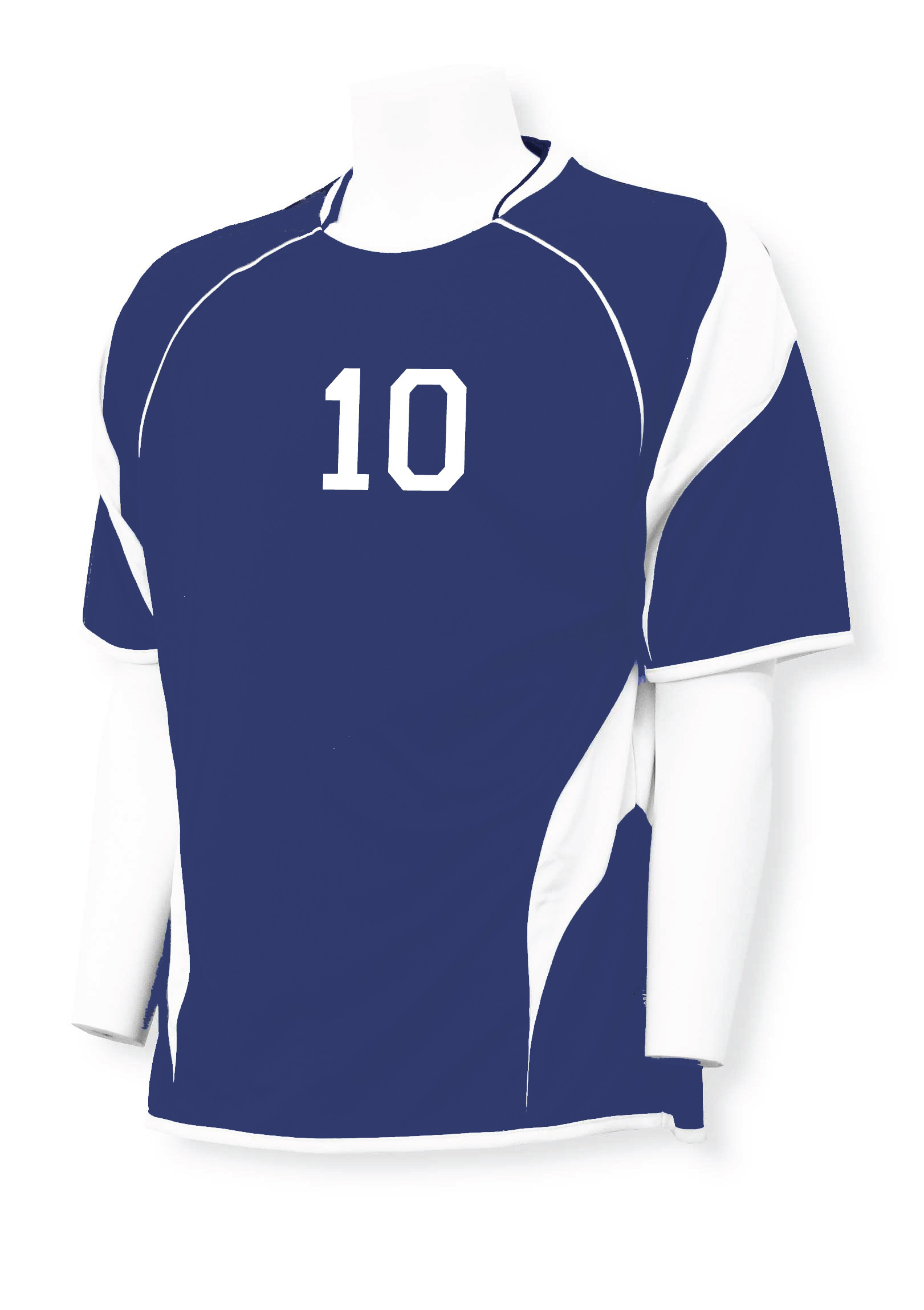 Soccer jersey personalized with name and number by Code Four Athletics