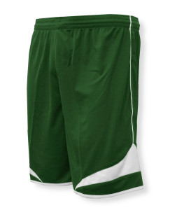 Velocity soccer shorts in forest/white