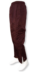 Viper soccer warmup pants in maroon by Code Four Athletics