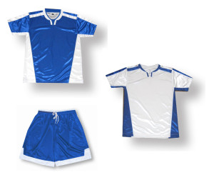 Winchester Soccer Uniform kit in royal/white by Code Four Athletics