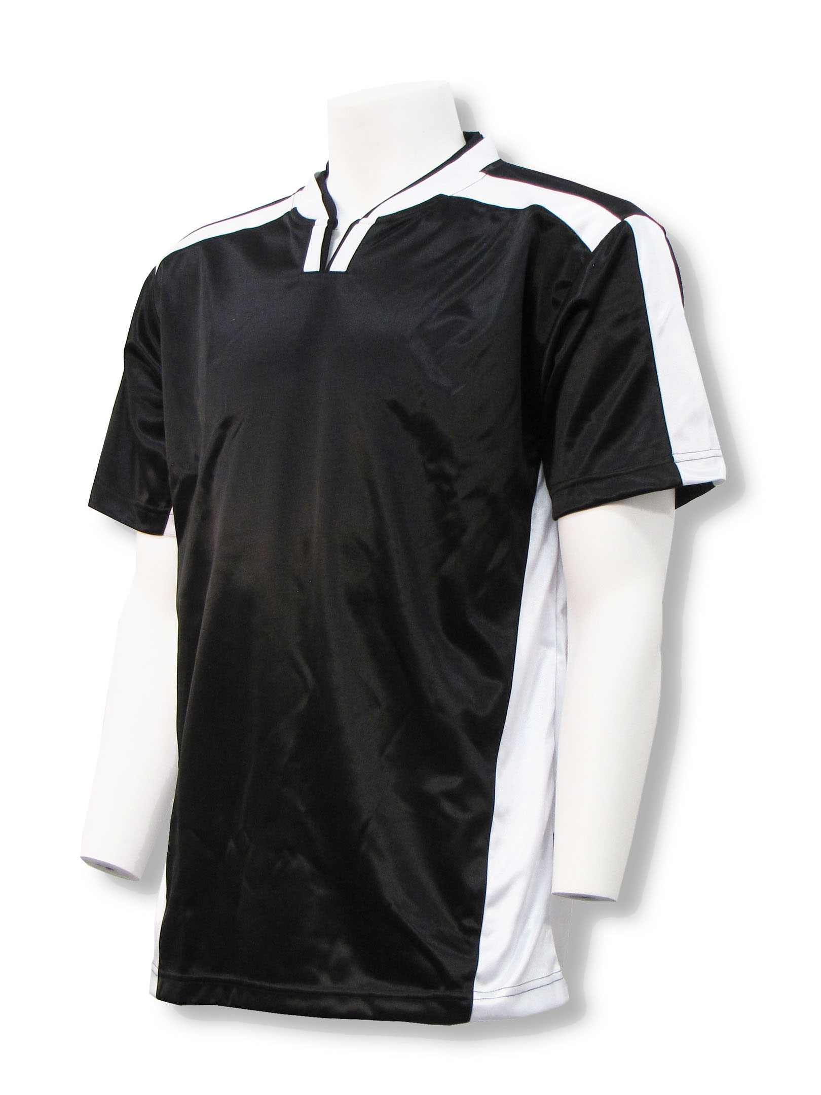 Winchester soccer jersey in black/white by Code Four Athletics