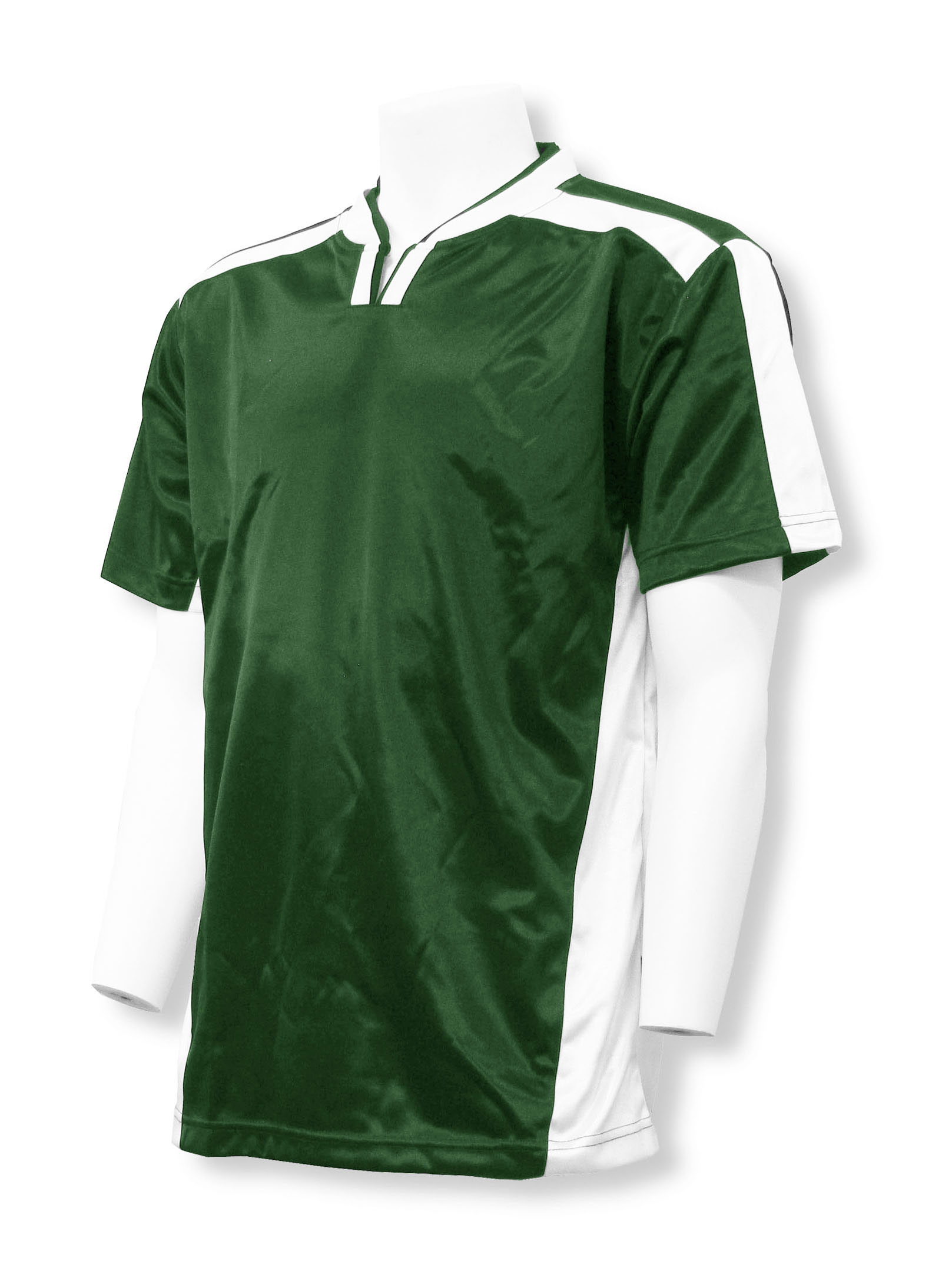Winchester soccer jersey in forest/white by Code Four Athletics