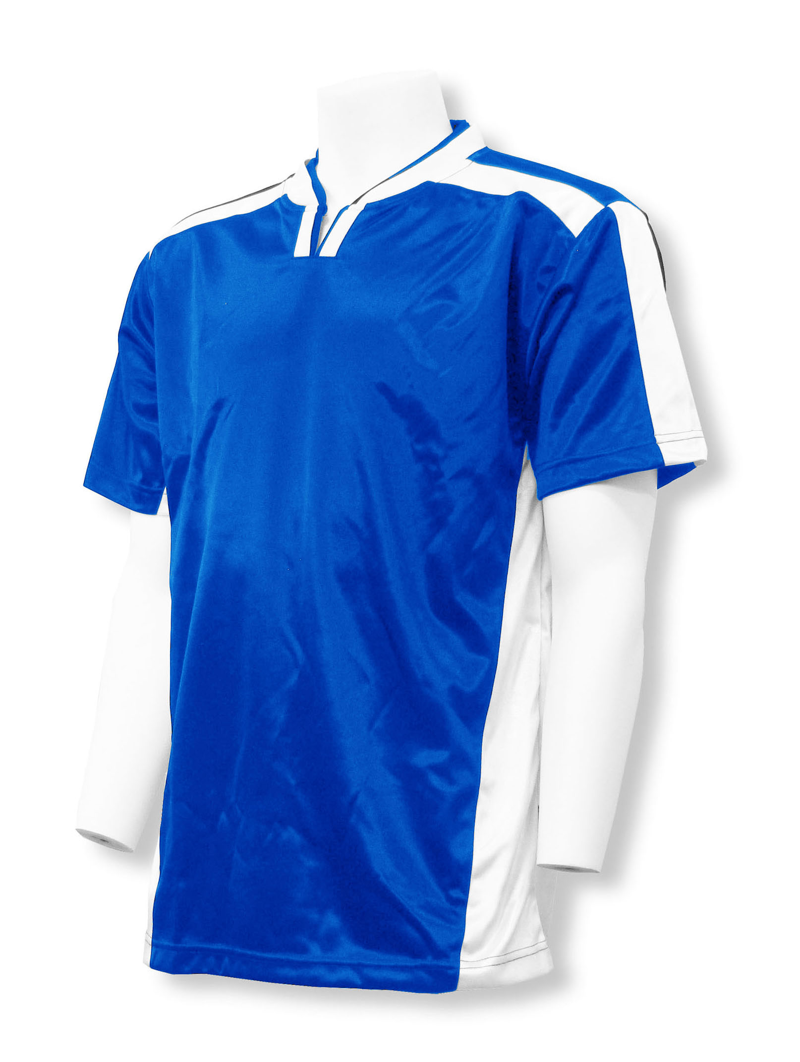 Winchester soccer jersey in royal/white by Code Four Athletics