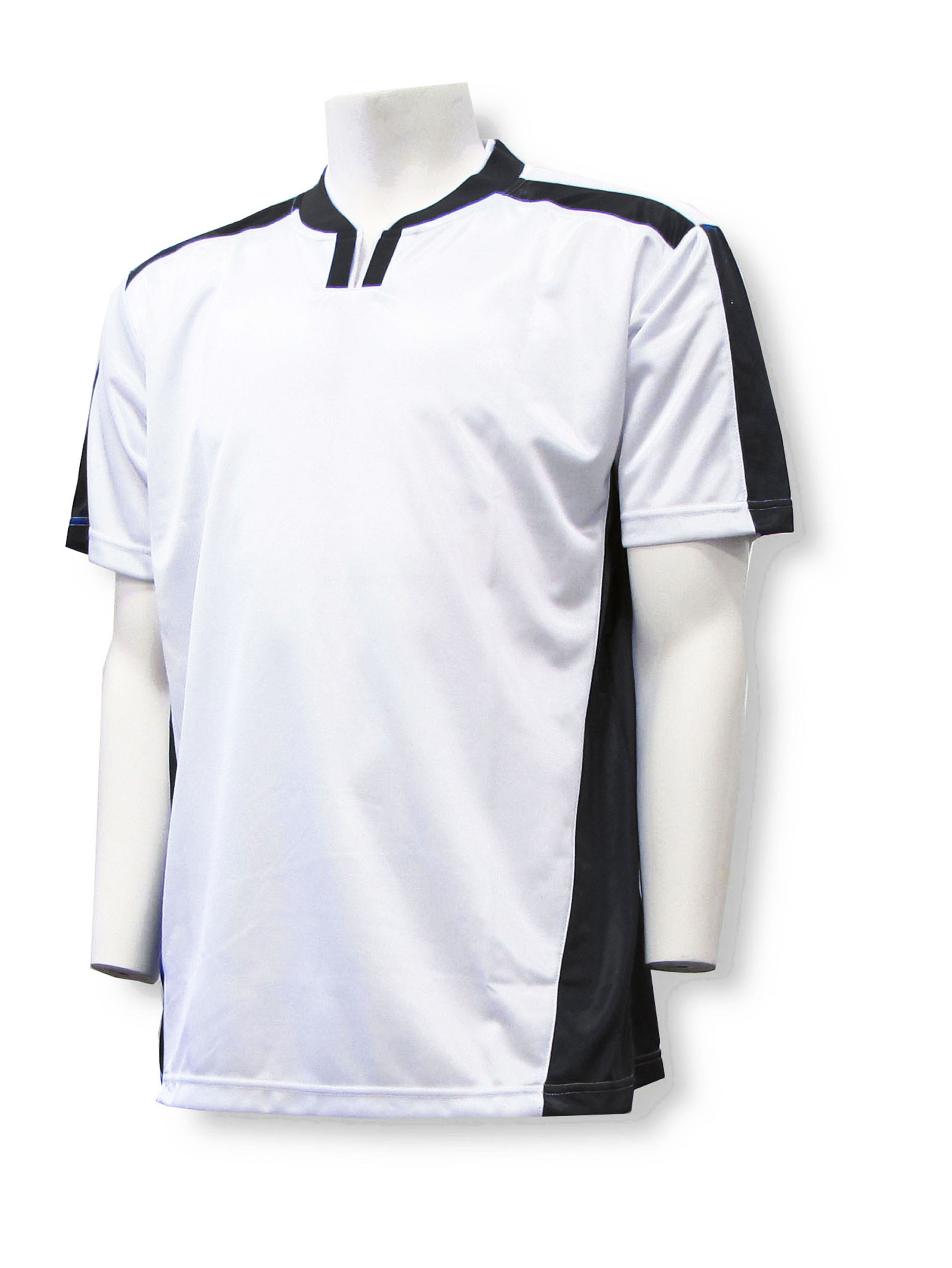 Winchester Soccer Jersey in white/black by Code Four Athletics