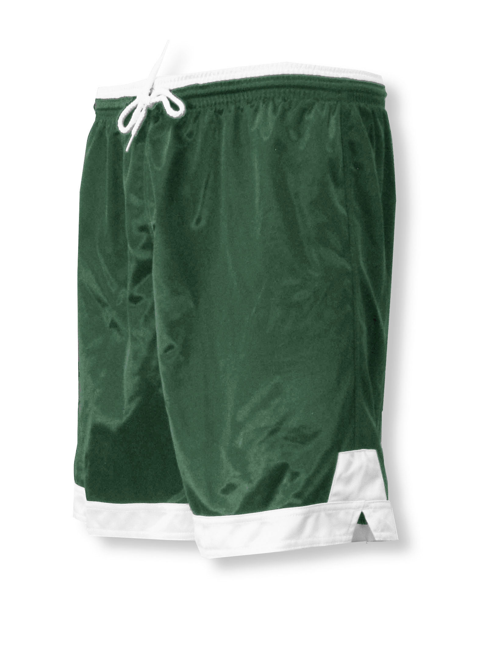Winchester soccer shorts in forest/white by Code Four Athletics