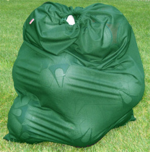 Soccer Ball Bag in forest by Code Four Athletics