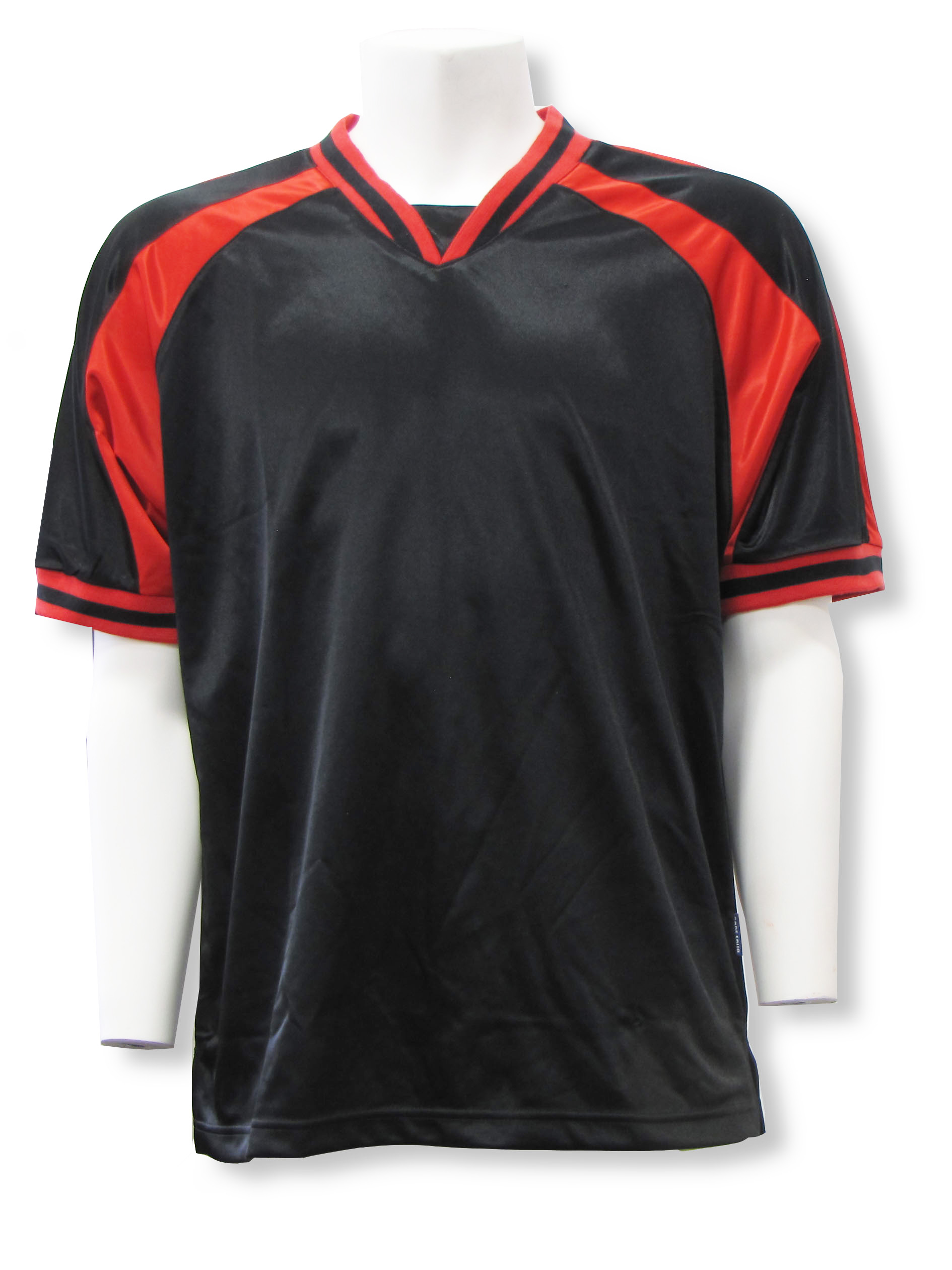 Spitfire soccer jersey in black/red by Code Four Athletics