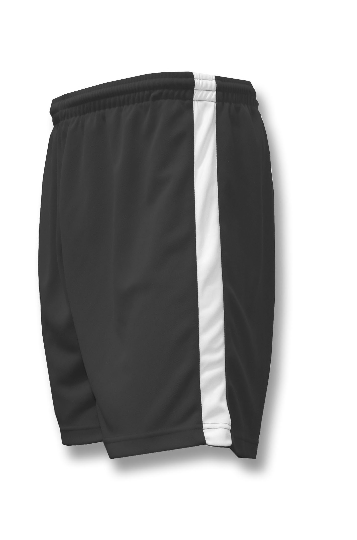 Sweeper / Cobra soccer shorts in black by Code Four Athletics