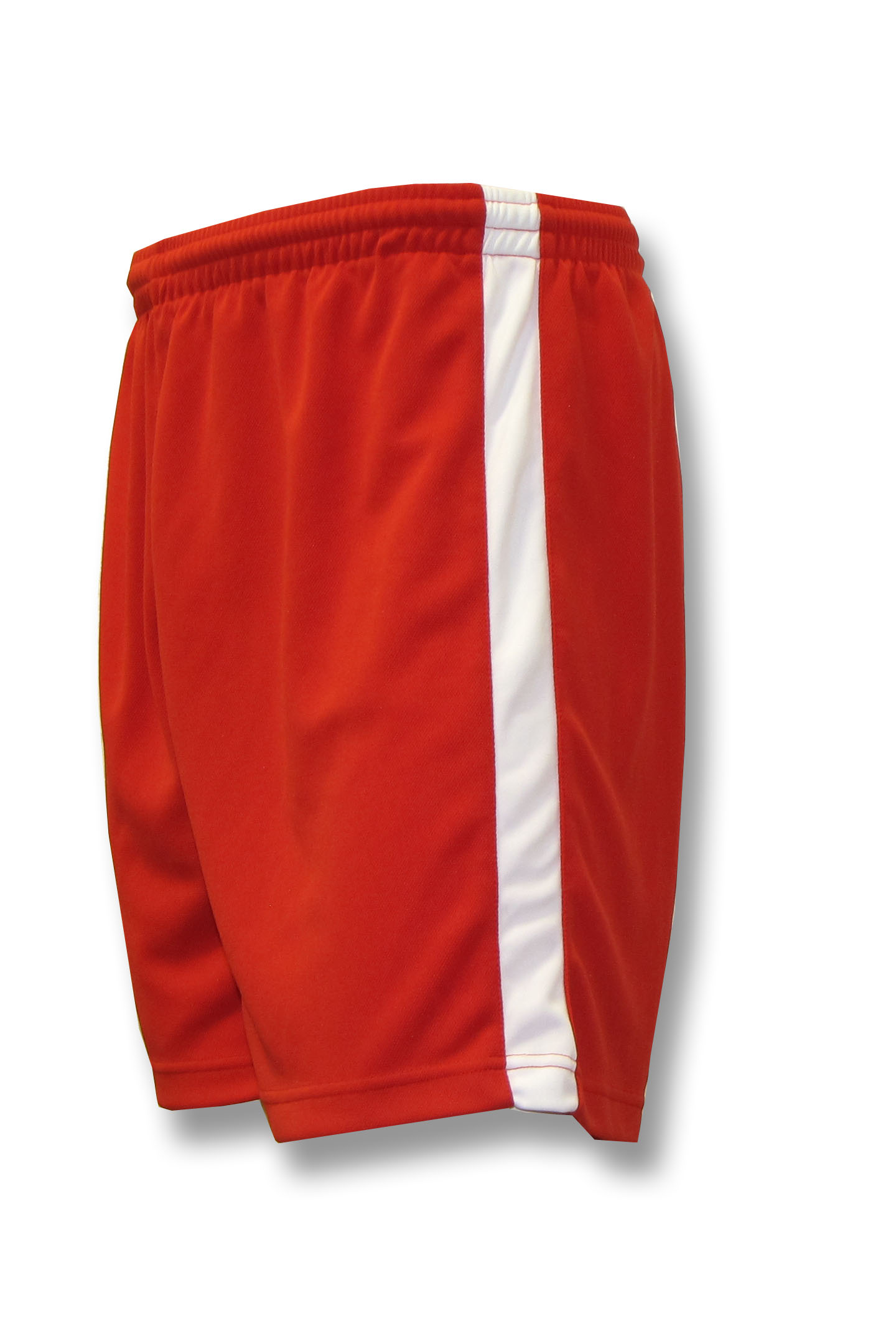 Sweeper / Cobra soccer shorts in red by Code Four Athletics