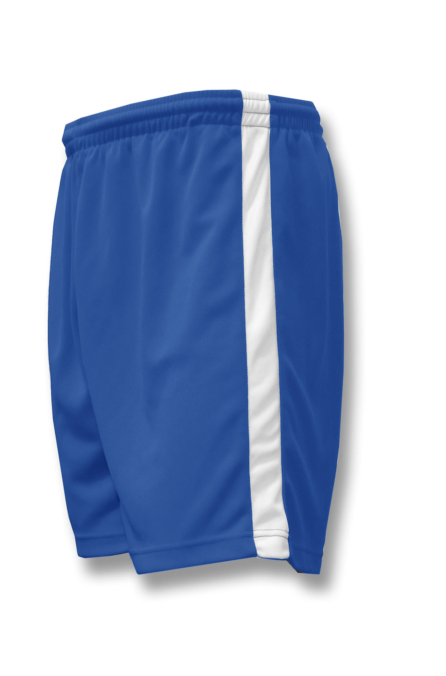 Sweeper / Cobra soccer shorts in royal by Code Four Athletics