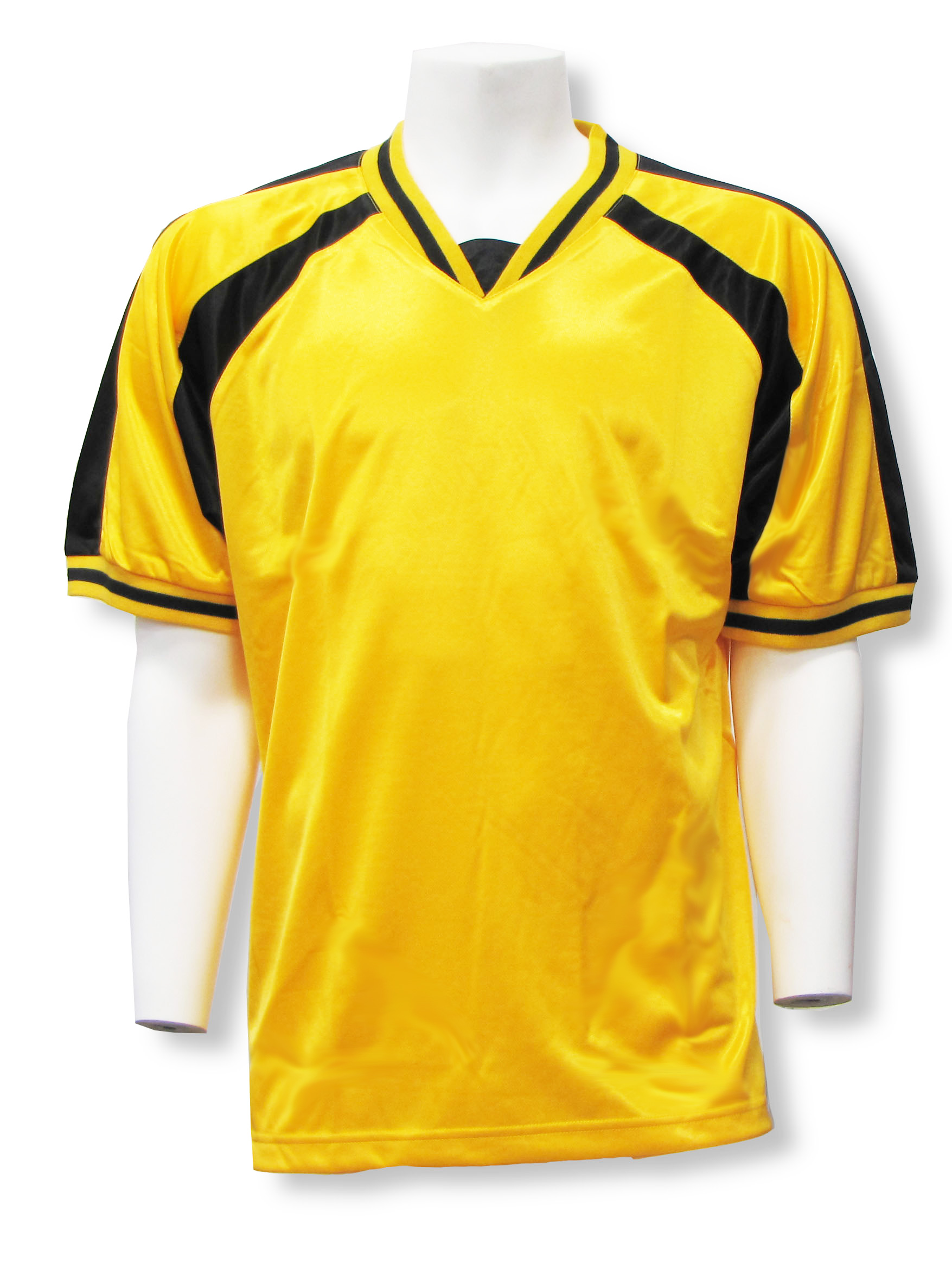 Spitfire soccer jersey in gold/black by Code Four Athletics