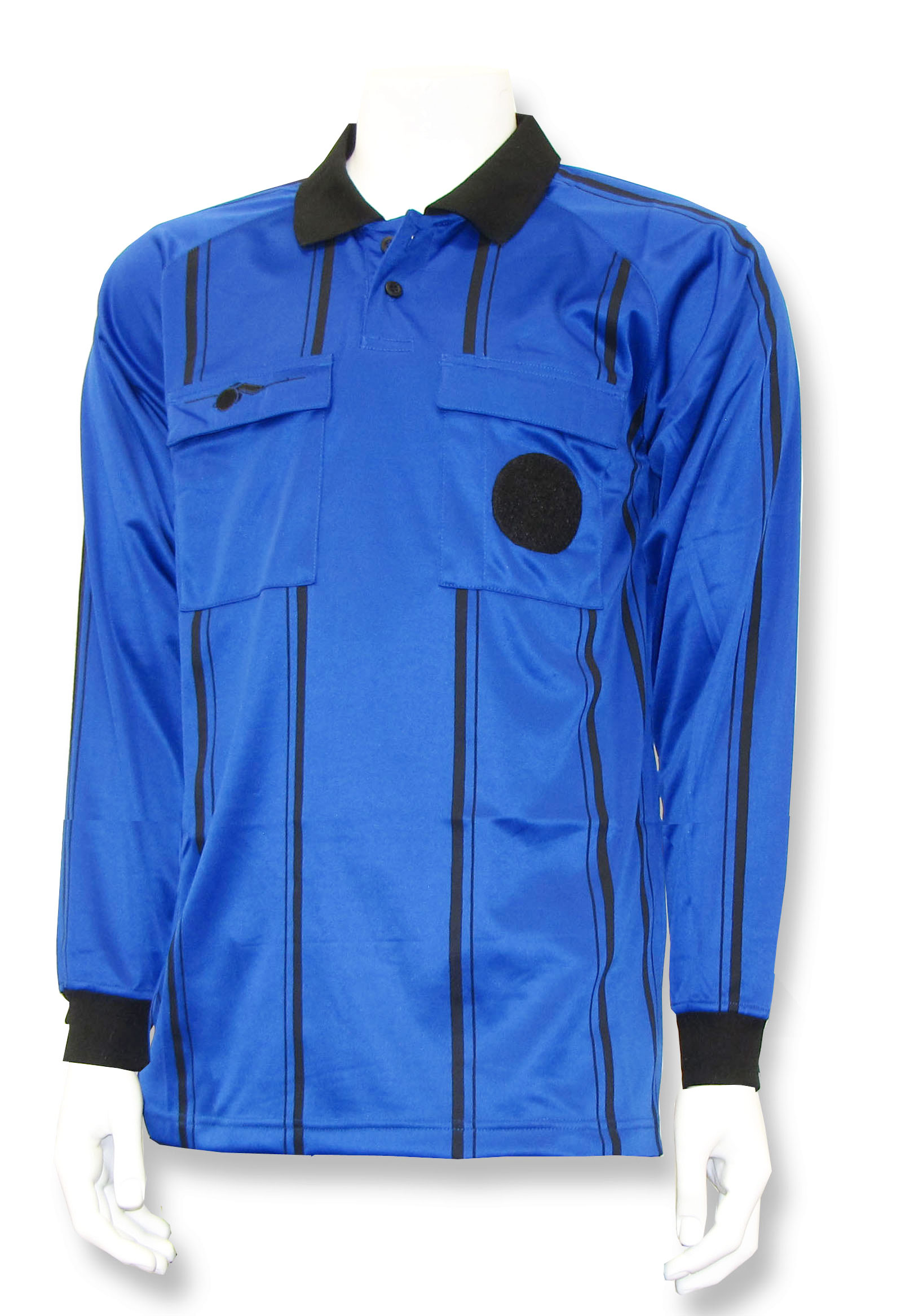 Soccer referee long sleeve jersey by Whistleline in blue